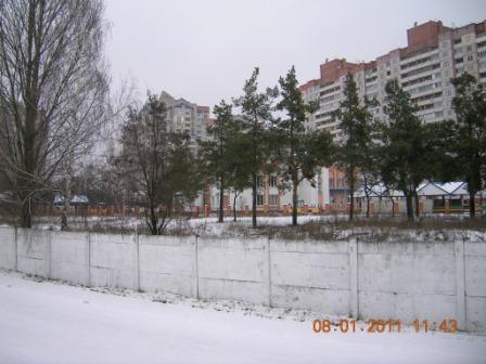 ДВРЗ взимку, мікрорайон Ліски
