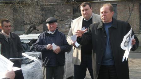 Зустрічі-звіти депутата з мешканцями ДВРЗ