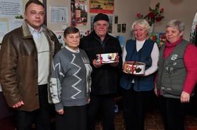 Віктор Хоменко з ветеранами ДВРЗ
