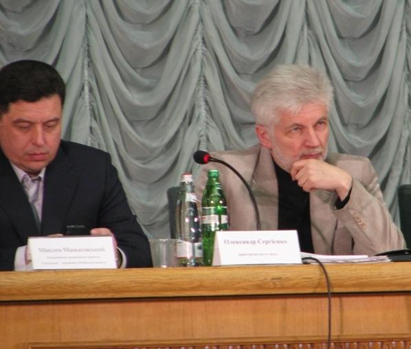 Максим Маньковський та Олександр Сергієнко