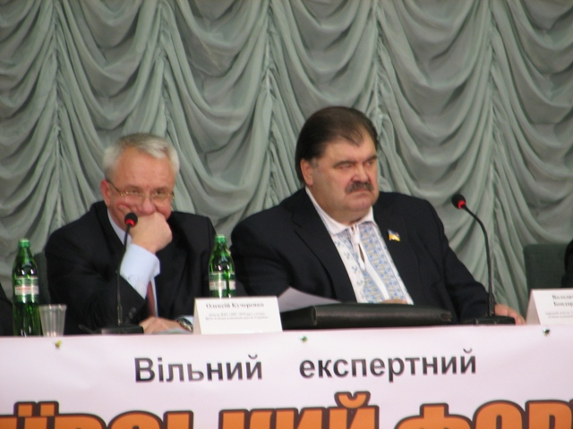 Олексій Кучеренко і Володимир Бондаренко
