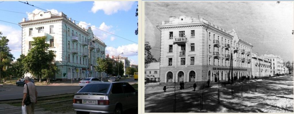 ДВРЗ, будинок №99/2 по Алма-Атинській тепер, та в 1952 році