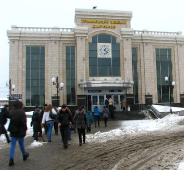 Дарницький приміський вокзал, фото сайту Ліски