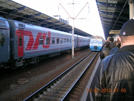 Поїзд 'Столичний експрес'