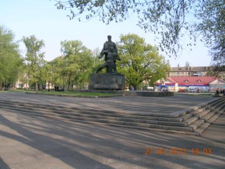 Пам'ятник загиблим в'язням концтабору