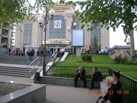 Дарницький вокзал, південний вестибюль