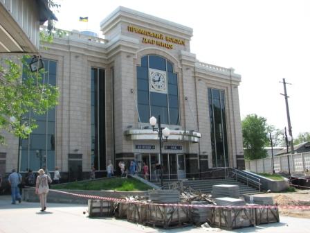 Дарницький вокзал, північний вестибюль