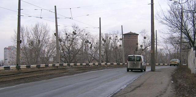 На мосту ДВРЗ трапилось ще одне ДТП?