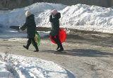 Зима на ДВРЗ