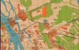 ДВРЗ на німецькій карті 1943 року