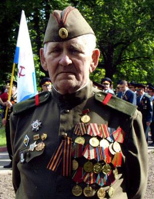 Ветеран Петро Осьмак