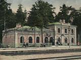 Дарницький вокзал на початку XX століття