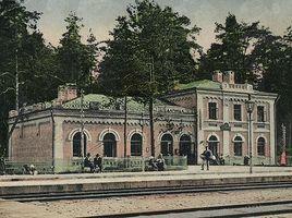Історія Дарницького вокзалу. Перша будівля