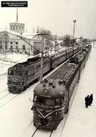 Історія Дарницького вокзалу. Будівля 1953 року, північний фасад