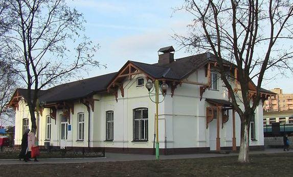 Залізничний вокзал Ірпінь
