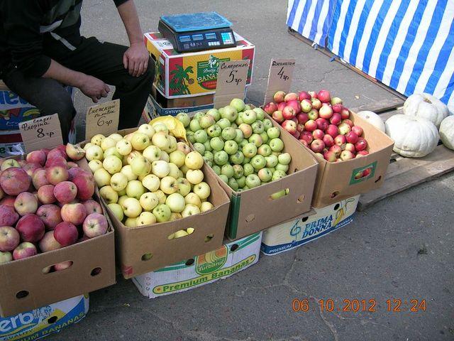 Продуктовий ярмарок на бульварі Праці, Дніпровський район