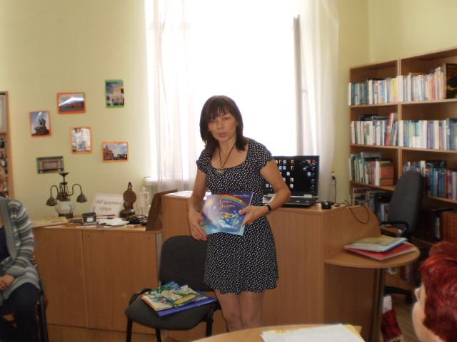 Євгенія Пірог в бібліотеці №158
