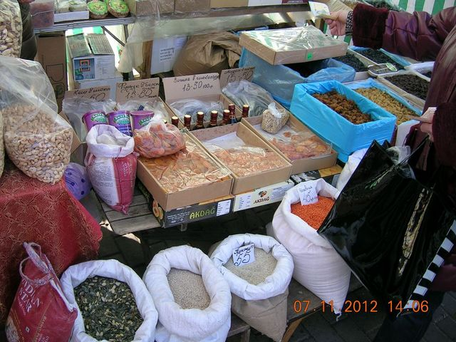 Районні продуктові ярмарки 21, 23-24 листопада 2012 року