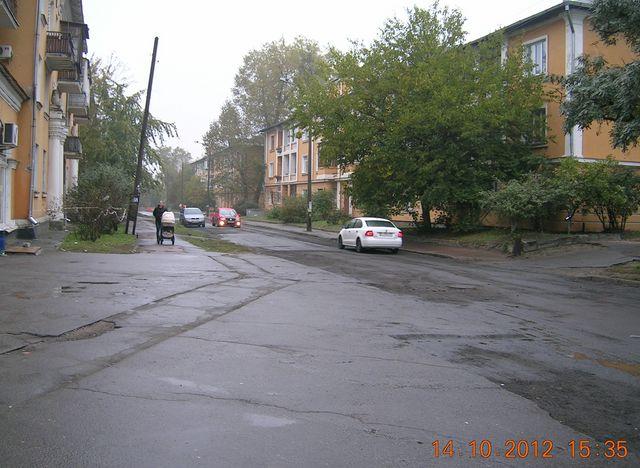 Вулиця Макаренка до ремонту