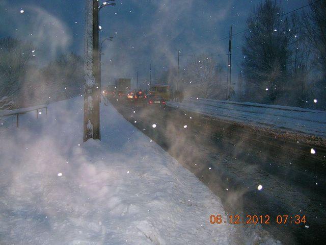 Аварія на мосту ДВРЗ