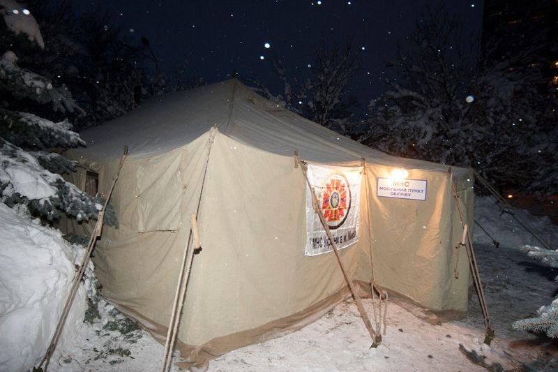 Пункти обігріву в Києві