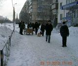 """Новини Дніпровського району: від ринку """"Березняки"""" вивезено 30кг снігу"""