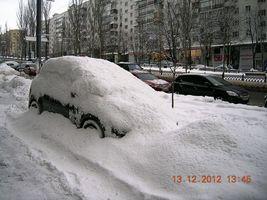 Київ узимку, бульв.Лесі Українки