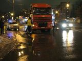 На Гродненській вантажівка вбила людину на пішоходному переході