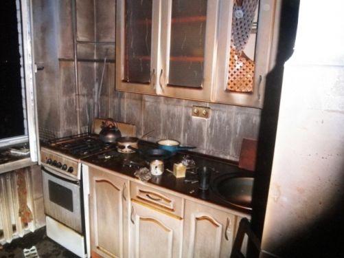 Пожежа на вул.Алма-Атинській (ДВРЗ)