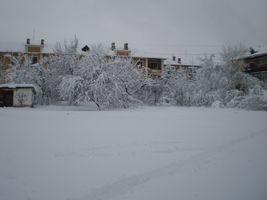 Київ, зима на ДВРЗ