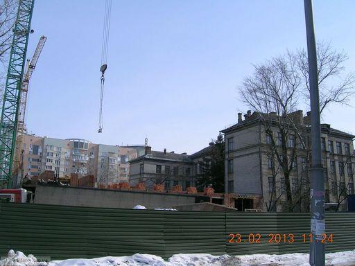 Реконструкція школи №128, вид із заходу