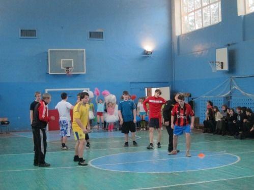 Змагання юнаків школи №11