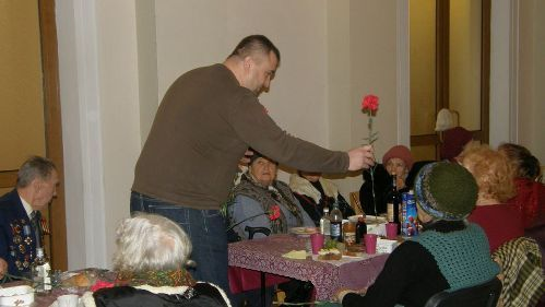 Зустріч ветеранів ДВРЗ 23 лютого