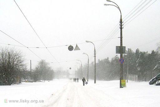 Київський снігопад 23 березня