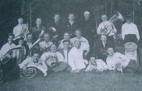 Духовий оркестр ДВРЗ, 1950-ті роки