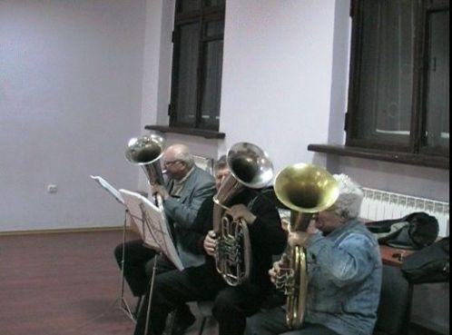 Репетиція духового оркестру ДВРЗ