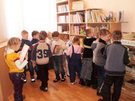 """Новини партнерів: екскурсія групи """"Бджілка"""" до бібліотеки"""