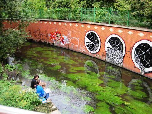 Річка Панке, Берлін