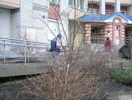 ЖРЕО-415 (ДВРЗ) ремонтує під'їзди