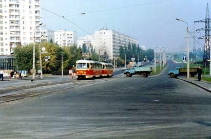 Київ, 1985 рік. Вул.Братіславська