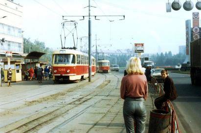 Київ, 1985 рік. Ленінградська площа