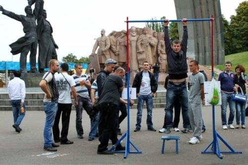 """В Киеве активизировались спортивные """"лохотроны"""""""