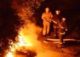 Нічна пожежа на ДВРЗ