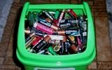 Збір батарейок на утилізацію