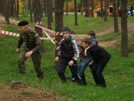 """Школа №11 (ДВРЗ) зайняла III місце в районному етапі змагань """"Сокіл"""""""