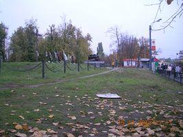 Новий пам'ятник на станції Дарниця