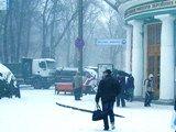 Київський Євромайдан: вранішні барикади