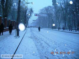 Київський Євромайдан: вранішні барикади. Вулиця Грушевського