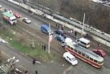 ДТП на мосту ДВРЗ 19 грудня 2013 року