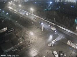 ДТП перед мостом ДВРЗ